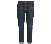 Serrano cropped mid-rise straight-leg jeans