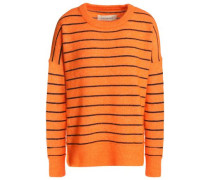 Andoles striped stretch-knit sweater