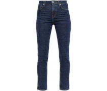 Thilus High-rise Slim-leg Jeans Mid Denim  4
