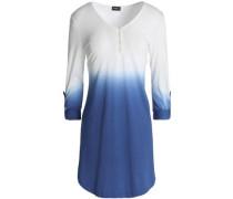 Dégradé cotton and modal-blend pajama top
