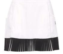 Grand Slam Pleated Jersey Tennis Skirt White