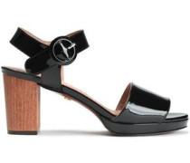 Patent-leather Sandals Black