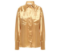 Satin Shirt Gold