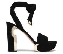 Ziggy suede platform sandals