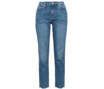 Tomboy Cropped Slim Boyfriend Jeans Mid Denim  7
