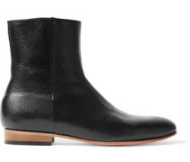 Rod Nubuck Ankle Boots Black