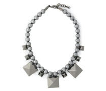 Gunmetal-tone necklace