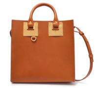 Albion Square Leather Tote Tan Size --