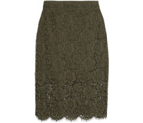 Glimmer corded lace skirt