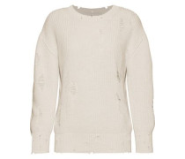 Polxa distressed cotton sweater