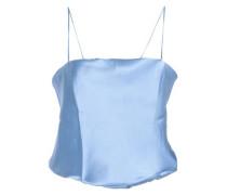 Silk-satin bodysuit