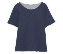 Cotton-jersey pajama top