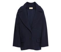 Woman Walton Cotton-blend Bouclé Jacket Navy