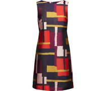 Clyde jacquard-twill mini dress