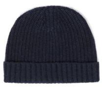 Ribbed-knit beanie
