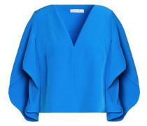 Draped cady blouse