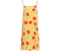 Sasha Crepe Mini Dress Saffron
