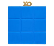 Acrylic Box Clutch Blue Size --