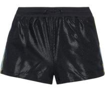 Blair Striped Mesh Shorts Black