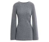 Havane Belted Cashmere Sweater Gray  /L