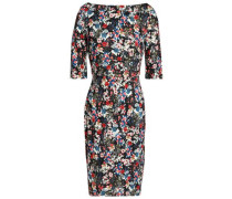 Floral-print stretch-jersey dress
