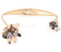 Gold-tone Crystal Choker Gold Size --