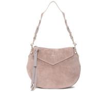Artie Suede Shoulder Bag Antique Rose Size --