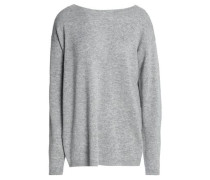 Robinson cutout wool and cashmere-blend sweater