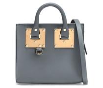 Albion Box Leather Shoulder Bag Anthracite Size --