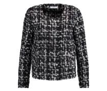 Cropped bouclé tweed jacket