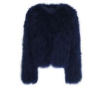 Feathered coat