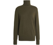 Cashmere Turtleneck Sweater Army Green