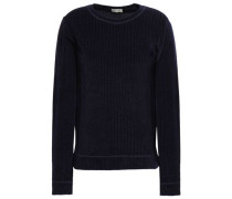 Casmida Ribbed Chenille Sweater Midnight Blue