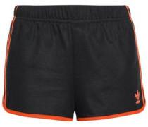Woman Cotton-blend Jersey Shorts Black