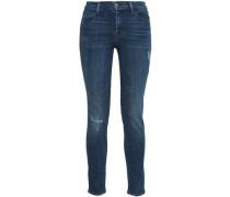 Mid-rise Skinny Jeans Dark Denim  3
