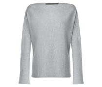 Mélange fleece sweatshirt