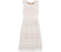 Felicia cutout cotton and silk dress