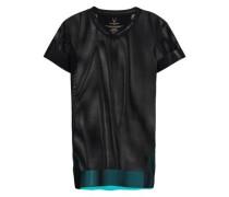 Mesh T-shirt Black