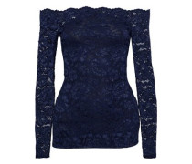 Heidi off-the-shoulder lace top