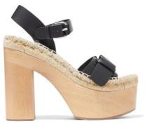 Lucia leather platform sandals
