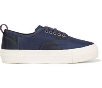 Mother Simon Mullan paneled shell platform sneakers