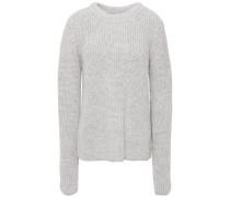 Ribbed Alpaca-blend Sweater