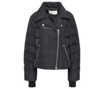 Quilted Shell Down Jacket Black