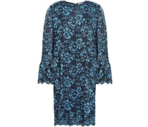 Flynn Lace Mini Dress Cobalt Blue