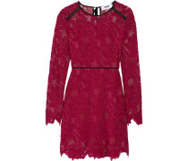 Corded lace mini dress