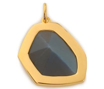 Petra 18-karat gold vermeil labradorite pendant