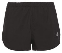 Woman Logo-embellished Shell Shorts Black