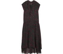 Janie printed georgette dress