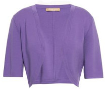Merino Wool Shrug Violet