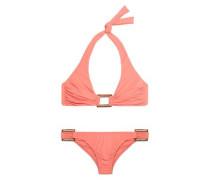 Paris ruched halterneck bikini